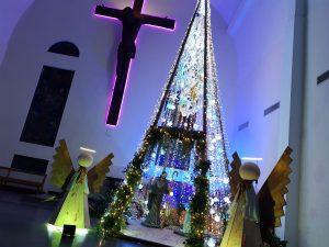 Acendimento da Árvore de Natal no Santuário
